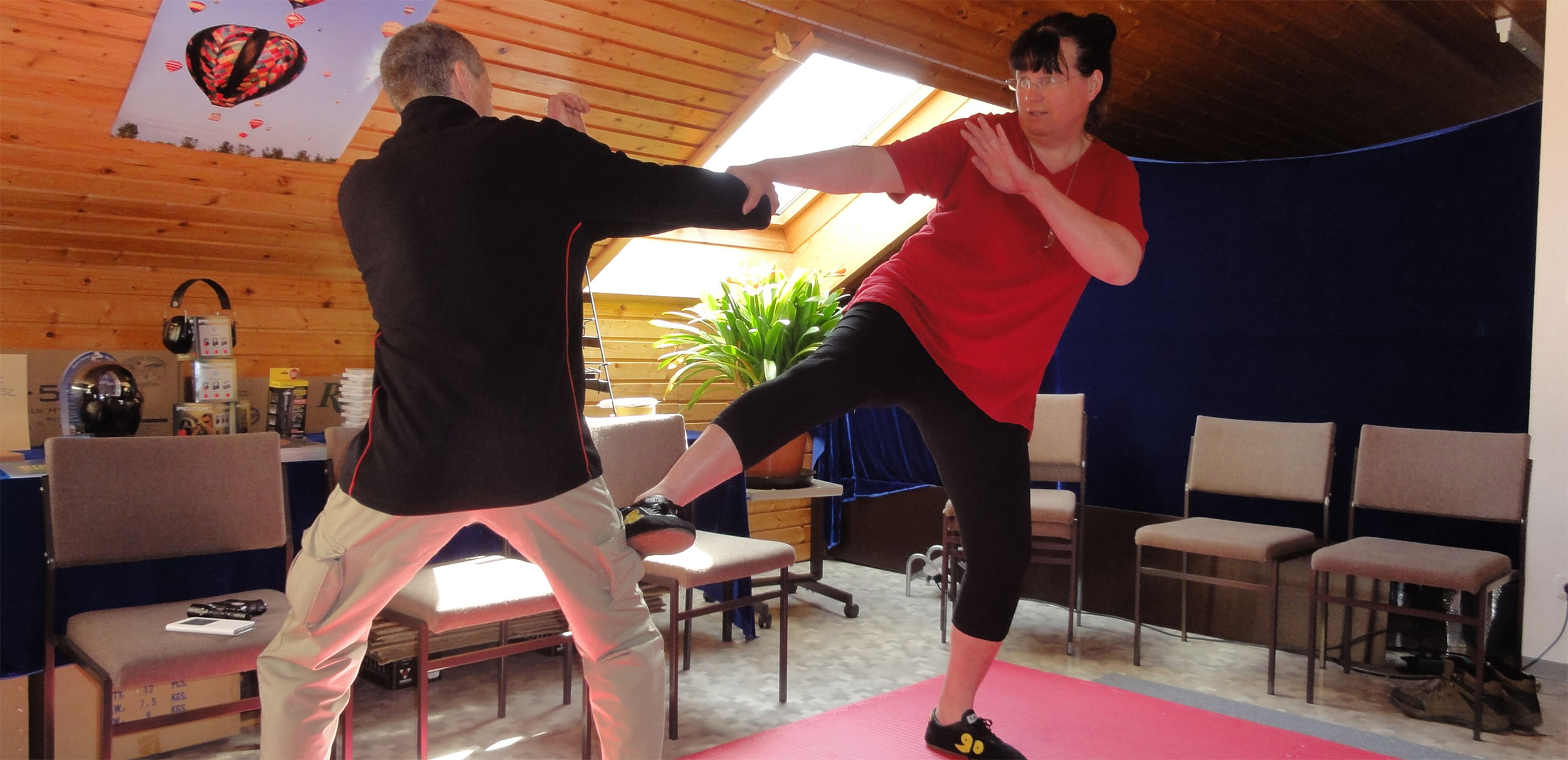Kampfkunst Training